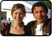 Rachel Lampen and Jean-Christophe Novelli